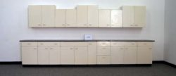 15' Base x 14' Wall Lab St. Charles Cabinets