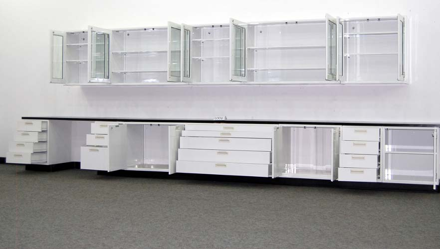 19 Hamilton Lab Cabinets Casework W 16 Wall Cabinets