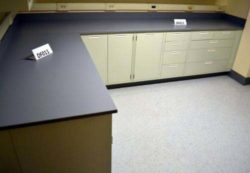 20' Fisher Hamilton Laboratory Furniture Cabinets w/ 13' Wall Units