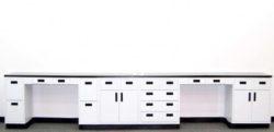 20' Used Laboratory Cabinets