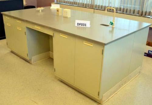 22' Fisher Hamilton Island Cabinets w/ Epoxy Resin Countertops