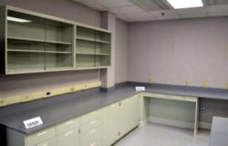 24' Fisher Hamilton Cabinets w/ 12' Wall Units