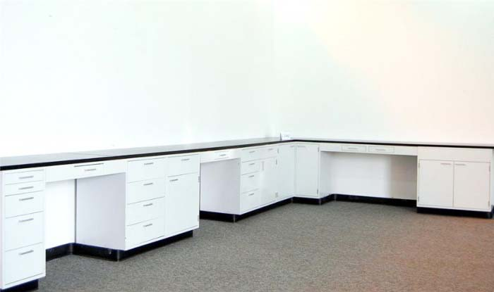 25' Fisher Hamilton Lab Group Cabinets w/tops