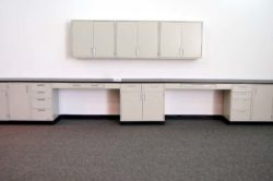 27' Hamilton Lab Cabinets w/ 9' Wall Units