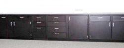 28' Laboratory Cabinets