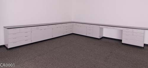 31' Fisher Hamilton Cabinets