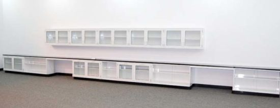 34' Fisher Cabinets w/ Wall Units