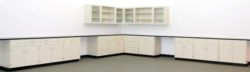 34' Mott Cabinets w/ 14' Upper Cabinets