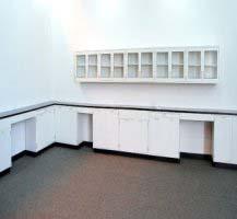 38' Hamilton Lab Cabinets w/ 20' Wall Cabinets