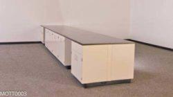 40' Mott Laboratory Cabinets