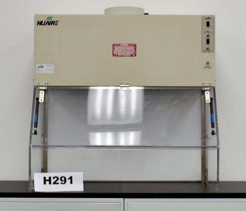 42″ NUAIRE FUME HOOD CLASS 1 BIO SAFETY ENCLOSURE H291