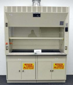 6' Kewaunee Scientific Laboratory Fume Hood w/ Epoxy Countertops