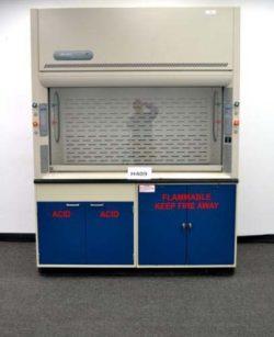 6' Labconco Laboratory Fume Hood w/ Flammable Storage Cabinets (H409)