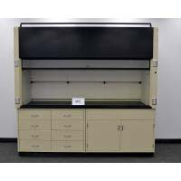 6' Labconco Laboratory Fume Hood with 2 Base Cabs and Epoxy Top