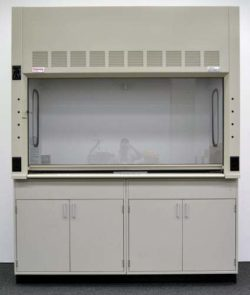 6' Thermo Scientific Safe Aire II Laboratory Fume Hood w/ Base Cabinets