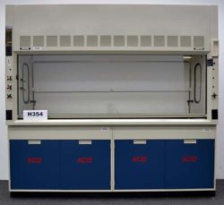 8' Fisher Hamilton SafeAire Fume Hood