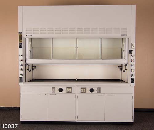 8′ FUME HOOD SAFEAIRE WITH OPTIONS H0037