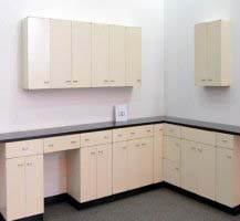 18' Base x 11' Wall Laboratory Cabinets