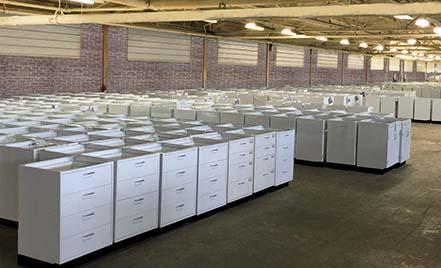 National Laboratory Sales warehouse
