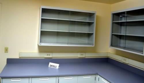 laboratory cupboard 20 fisher hamilton laboratory furniture cabinets w 13 upper