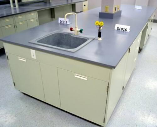 34' Fisher Hamilton Island Cabinets w/ Epoxy Countertops