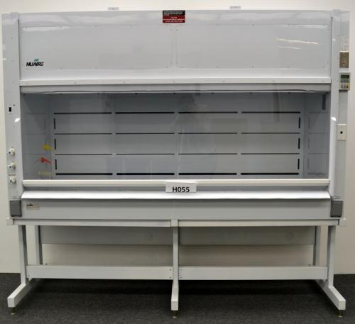 8′ NuAire Chemical Used Laboratory Fume Hood with Base Stand H055
