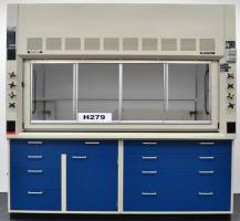 6′ Fisher Hamilton Safeaire Fume Hood w/ Base Cabinets H279