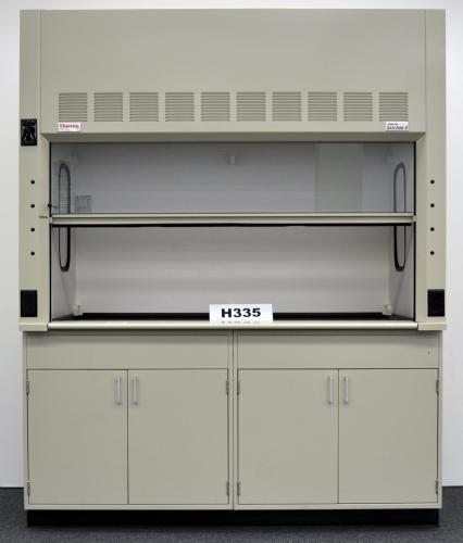 6u2032 Thermo Scientific Safe Aire II Laboratory Fume Hood With Base Cabinets