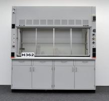 6′ Fisher Hamilton Safeaire Laboratory Fume Hood w/ Base Cabinets H362