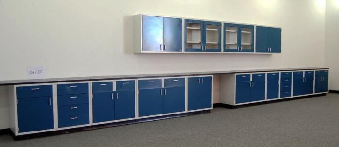 45' Laboratory Lab Cabinets/Casework Lab Furniture - NLS