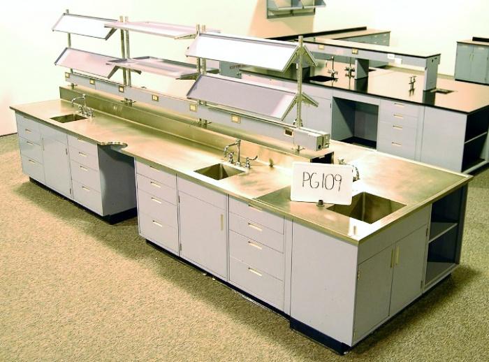 Superbe Fisher Hamilton Lab Cabinets ...
