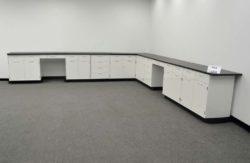 28' Hamilton Base Laboratory Cabinets w/ Tops (pa4-L358)