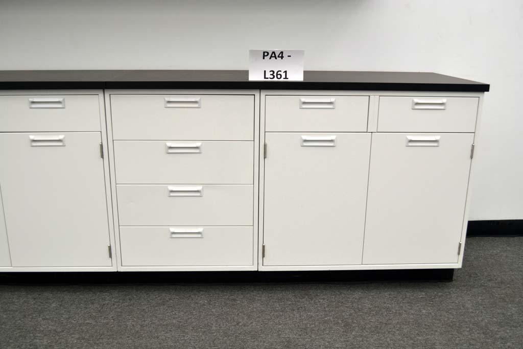 Marvelous Fisher Cabinets #17 - 34u2032 Fisher American Base Laboratory Cabinets U0026 29u2032 Wall Cabinets W/ Tops  (pa4-L361)