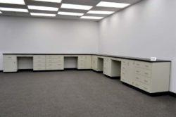 34' Base Laboratory Cabinets (L356)