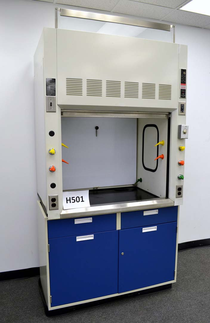 4 Chemical Laboratory Fume Hood H501