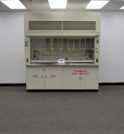 8' DuraLab Fume Hood w/ Base Cabinets (H473)
