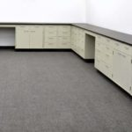 38' Base Laboratory Cabinets w Industrial Grade Counter Tops (CVOPEN1)