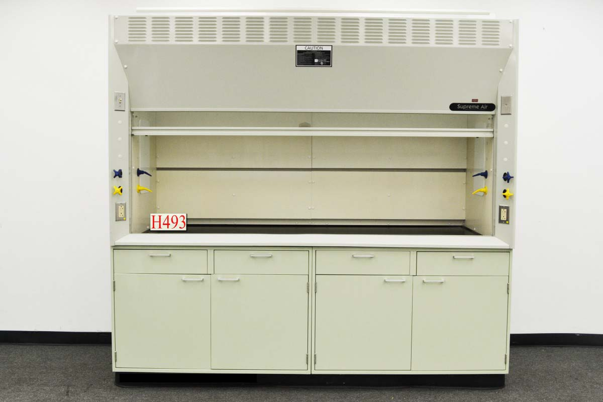 Kewaunee supreme air fume hood manual