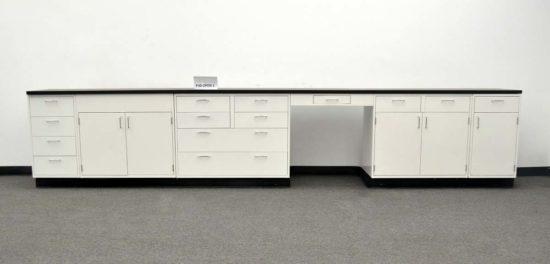 15' Fisher Hamilton Laboratory Cabinets (PA3-OPEN 1)