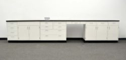 15' Fisher Hamilton Laboratory Cabinets (PA3-OPEN 1)
