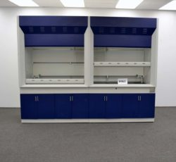 10' Laboratory Chemical Fume Hood w/ Epoxy Resin Countertops (H463)