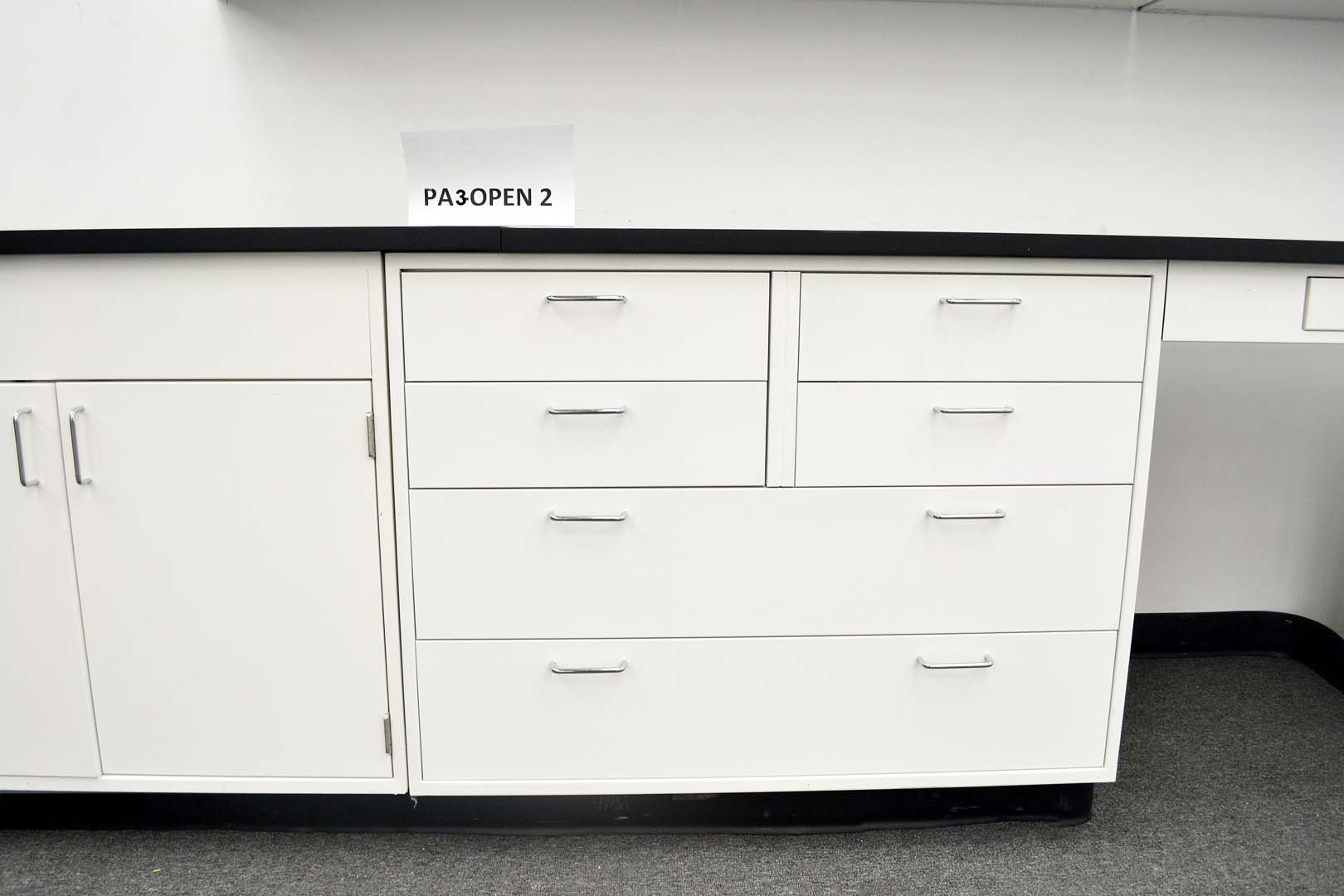 Fisher Cabinets #14 - 15u2032 Base Fisher American Laboratory Cabinets U0026 9u2032 Wall Cabinets (PA3-OPEN 2)