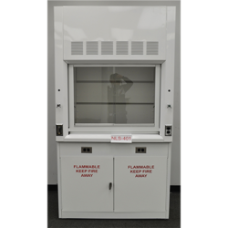 4' Chemical Fume Hood w/ Flammable Storage Cabinet (NLS-402)