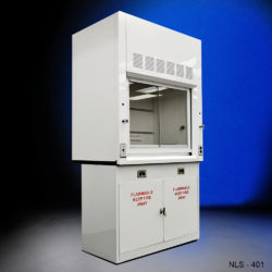 4' Fisher American Fume Hood w/ Flammable Storage Cabinet (NLS-401)