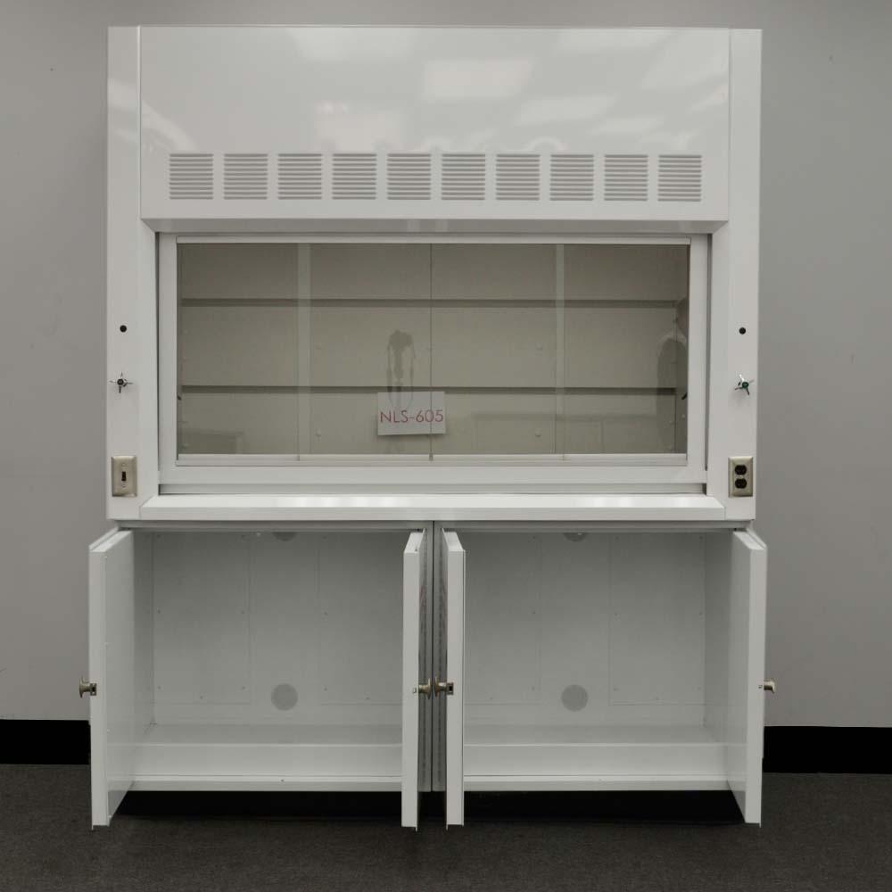 6u2032 Chemical Laboratory Fume Hood w/ Flammable Storage Cabinets (NLS-605) & 6u0027 Chemical Laboratory Fume Hood w/ Flammable Storage Cabinets (NLS ...