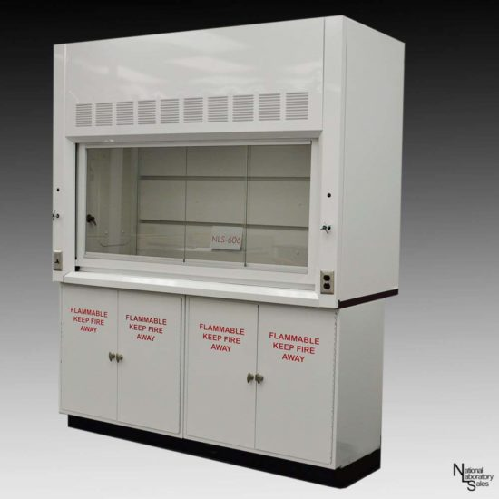 6' Fume Hood w/ Flammable Storage (NLS-606)