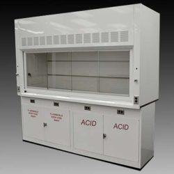 8' Fume Hood w/ Flammable & Acid Cabinets (NLS-804)