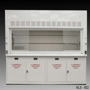 Fume Hood w/ Flammable Storage Cabinets