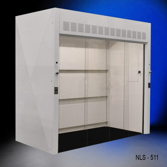 New walk-in fume hood from National Laboratory Sales.