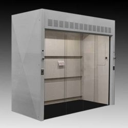 "8' Wide x 4' Deep Walk-In Fume Hood - 39"" Deep Work Area (NLS-H511)"